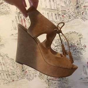 Jessica Simpson Lace Wedges